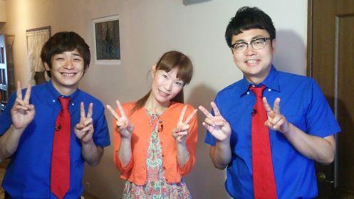 「銀シャリ」さんとテレビ出演@関西テレビ 色彩心理診断の取材をしてもらいました