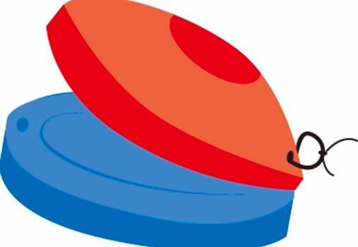 カスタネットの配色 何故赤と青なのでしょうか