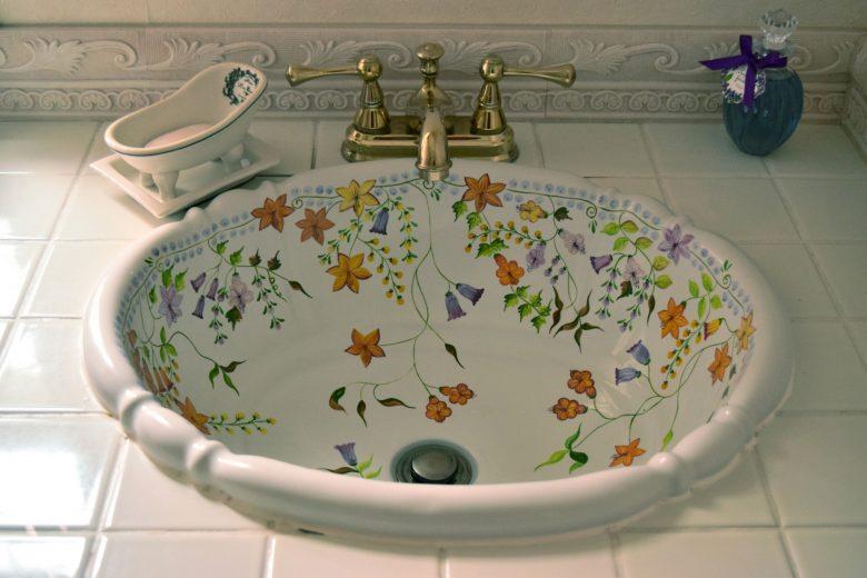 おしゃれな洗面室